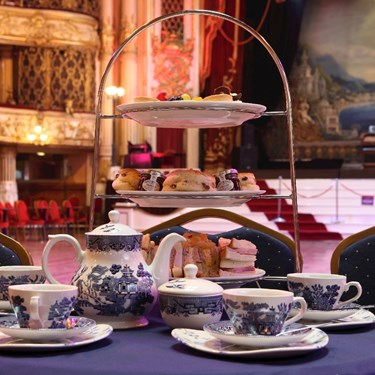 Afternoon tea, scones and cake at the Blackpool Tower Ballroom