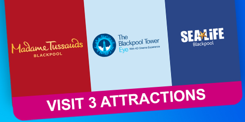 Visit 3 Attractions Ticket