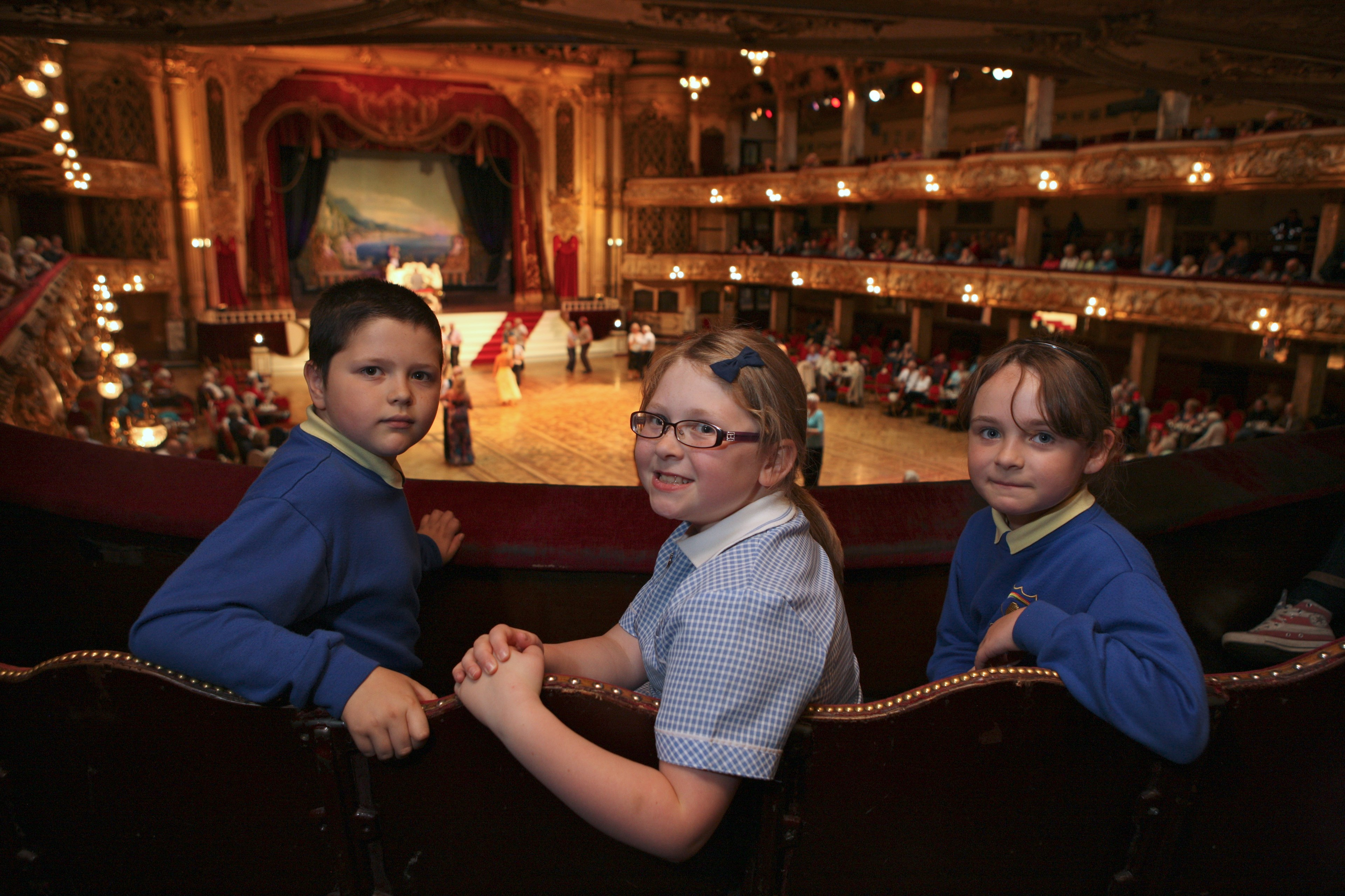 School Trip to the Blackpool Tower Ballroom
