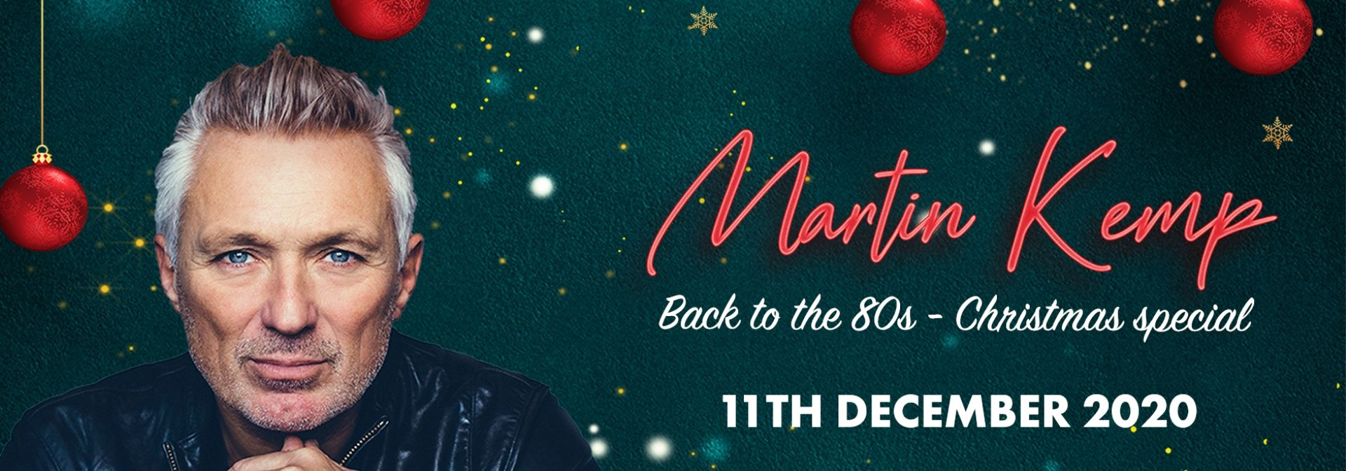 Martin Kemp - Back to the 80's Tour