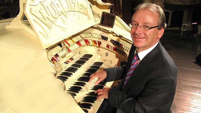 PHIL KELSALL MBE organist at the Blackpool Tower Ballroom