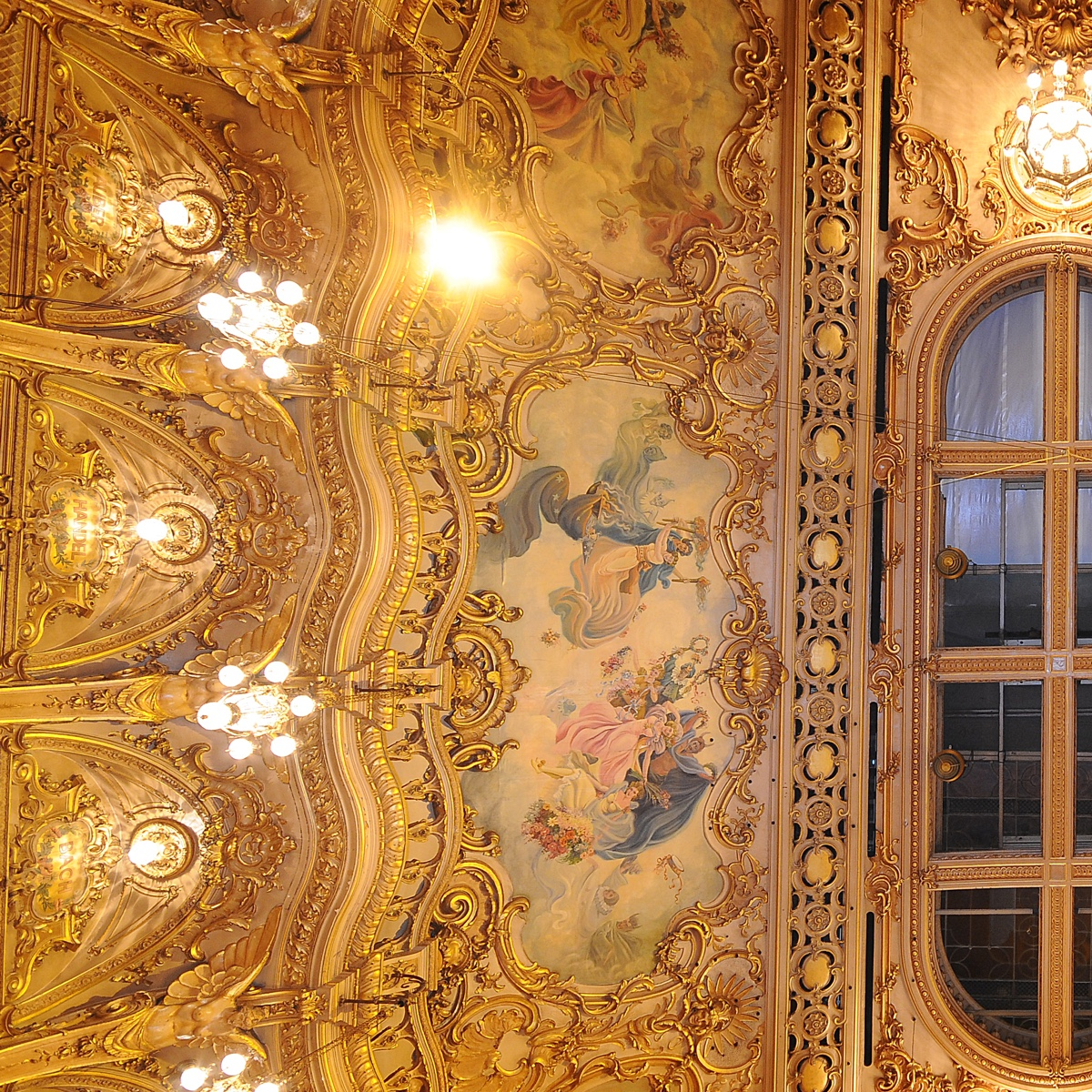 The Blackpool Tower Ballroom Ceiling